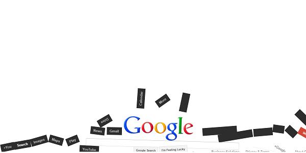 グーグル重力の例