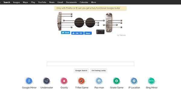 google guitarの例